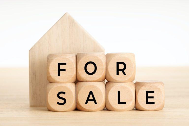 For Sale Concept. Real Estate Market